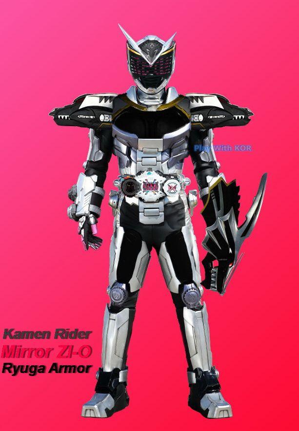 Kamen Rider Mirror Zi O Ryuga Armor Drag Claw Ver By Https Www Deviantart Com Playwithkor On Deviantart Kamen Rider Zi O Kamen Rider Rider