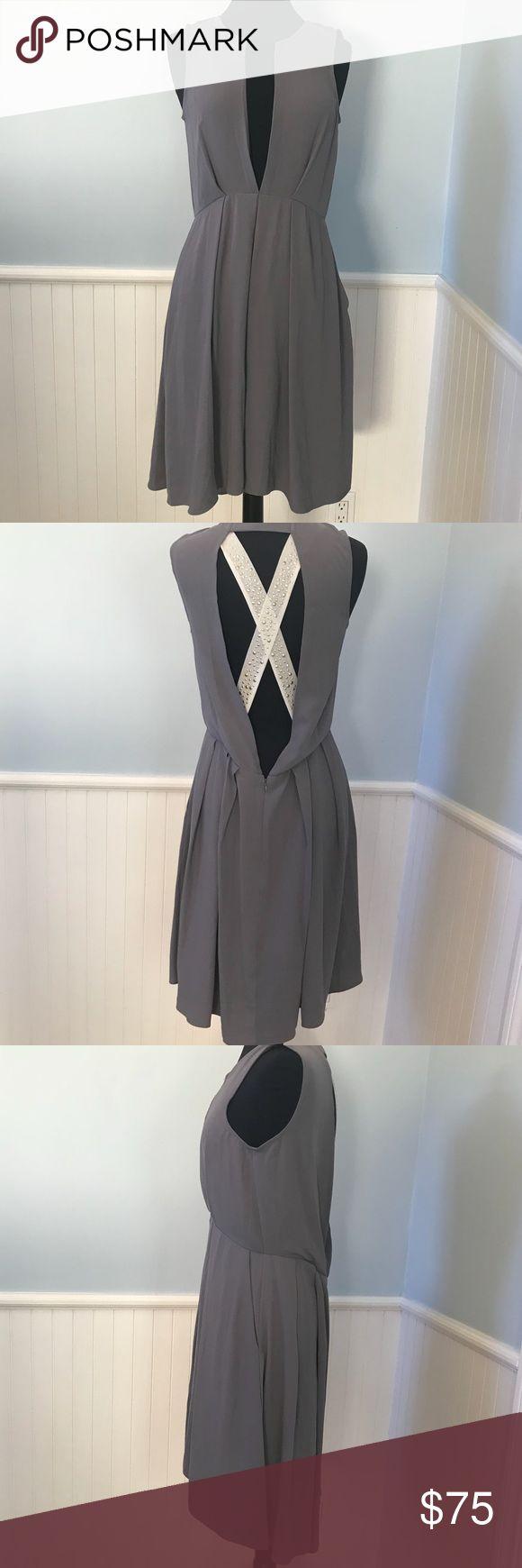 Rachel Roy Party Dress in Graphite Rachel Roy Party Dress in Graphite RACHEL Rachel Roy Dresses