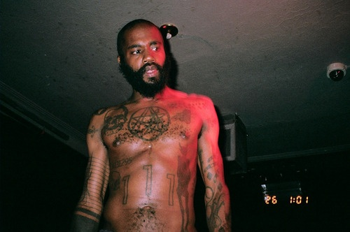 """I'm loving that he got the triple elder sign from SIMON's Necronomicon tattooed on his chest [only way to be sure you're safe from the old ones]""  MC Ride//Death Grips"