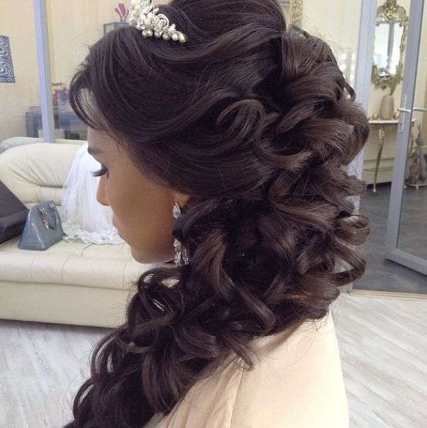 Quinceanera Hairstyles On The Side : 61 best quinceaera hairstyles images on pinterest