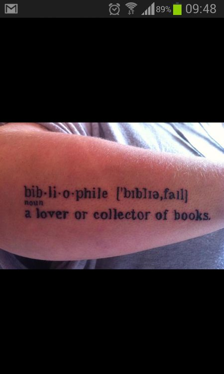 Bibliophile (n): a lover or collector of books.