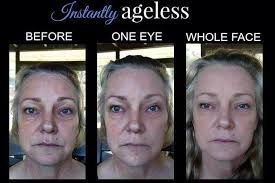 Within 2 minutes, Instantly Ageless reduces the appearance of under-eye bags, fine lines, wrinkles and pores, and lasts 6 to 9 hours. This specifically designed micro cream targets areas that have lost elasticity — revealing visibly toned, lifted skin.