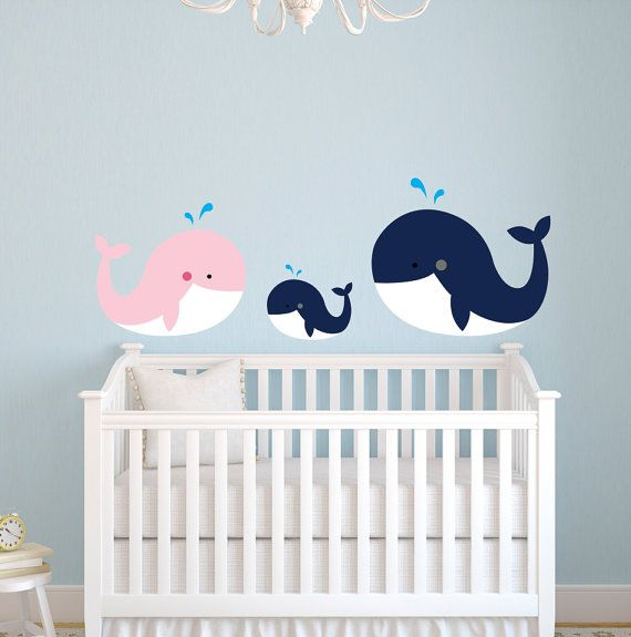 Wal-Familie Wall Decal nautische Thema Wall Decal