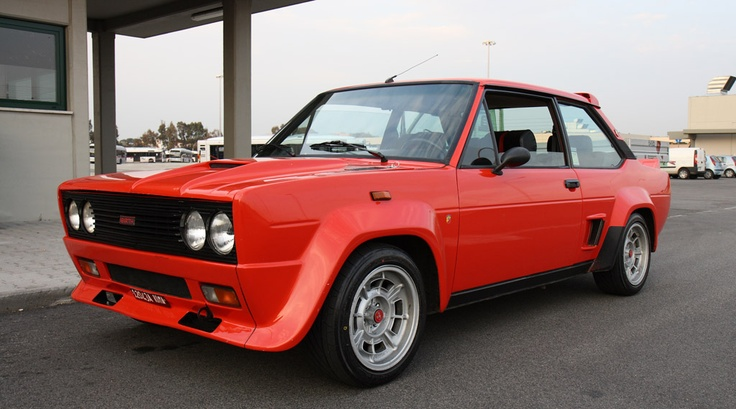 Fiat 131 Abarth - told you these are cool.