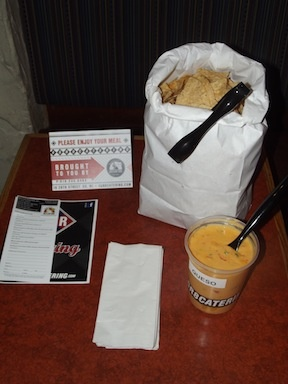Need a little somethin to go with lunch?  Want something mouth-watering to snack on?  Con Queso Dip. A-mazing!! Beltline Bar #gr #4GR8