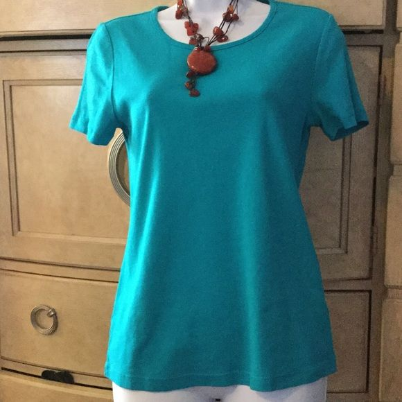 White Stag t shirt#2 100% cotton white stag blue shirt White Stag Tops Tees - Short Sleeve
