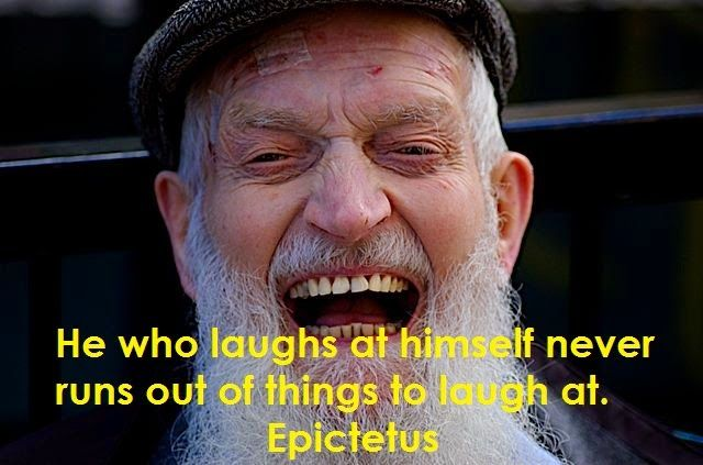 Quotes Laugh At Yourself: 17 Best Images About Epictetus/Stoic Joy On Pinterest