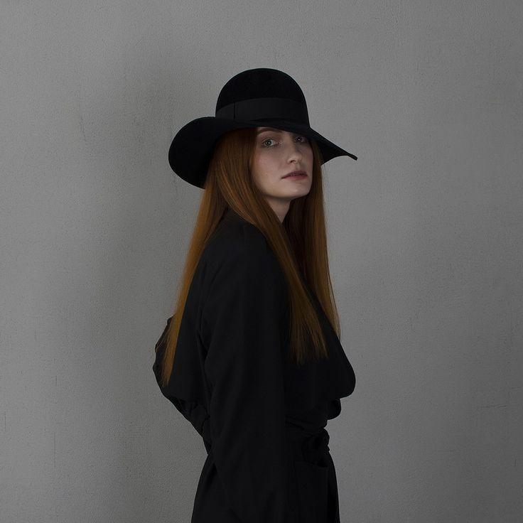 fotralehats.com фото photo hats lookbook Wide-brim black floppy hat / Черная широкополая шляпа флоппи