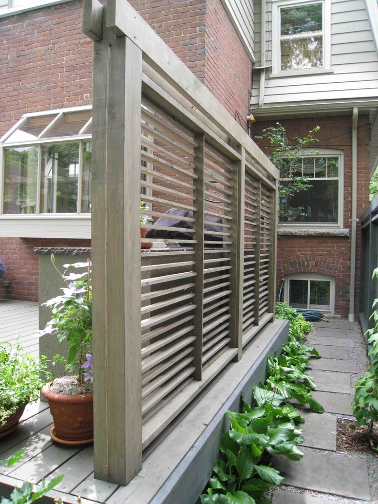 19 best decking privacy screens images on pinterest for Deck dividers for privacy