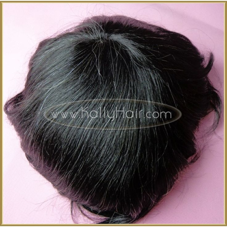 8inch #1-b Straight Men's Toupee & Lace Front Mens Wigs Costume Online