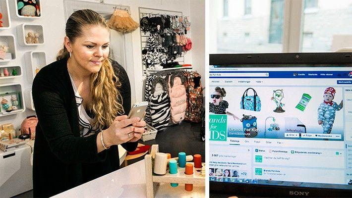 Vill du öka antalet följare i sociala medier? Gör som Cecilie Östvik i Linköping, anordna en tävling. Så här lyckas du på Facebook och Instagram.  Cecilie Östvik säljer barnkläder och barnartiklar. Med 6000 följare på Instagram och 3000 följare på Facebook lockar hon kunder både till sin butik Brands for kids i Linköping och sin webbshop påbrandsforkids.se. – Jag ser direkt när jag lägger ut en bild på en produkt på Instagram och Facebook att det säljs mer av den i webbshoppen. Lägger jag…