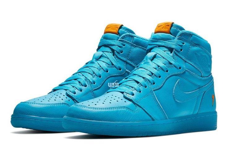 buy popular 5dd35 7ba06 ... RETRO HIGH  Air Jordan 1 Gatorade in Blue Lagoon by blog.sneakerando.com  sneakers sneakernews StreetStyle ...