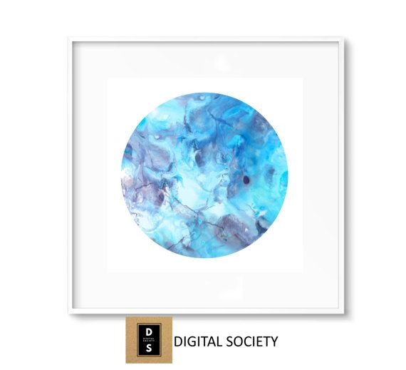 marble home decor square office wall art print by digitalsociety