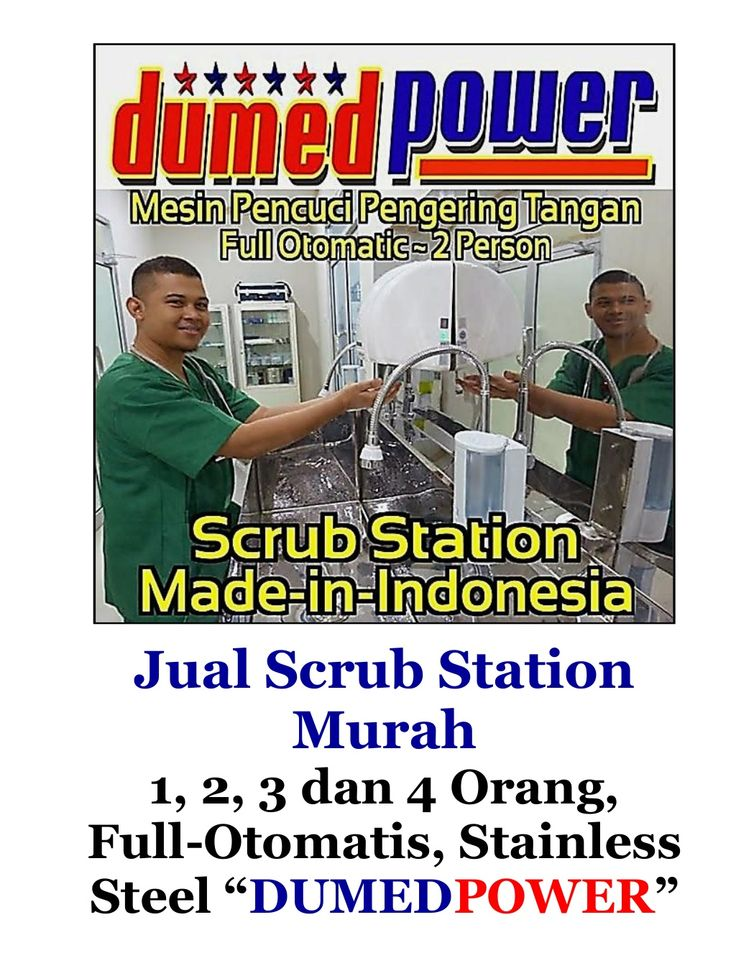 Jual Scrub Station Murah | 1,2,3 dan 4 Person - Full Automatic - Stainless Steel by Elfian Effendi via slideshare