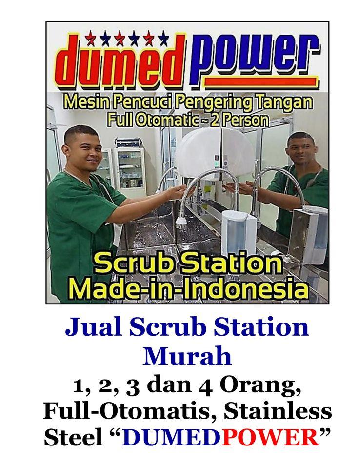 Jual Scrub Station Murah | 1,2,3 dan 4 Person - Full Automatic - Stainless Steel by Elfian Effendi via slideshare