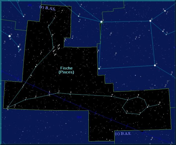 Astrologisches Sternbild Fische