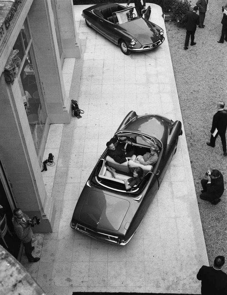 CITROËN DS 19 Cabriolet - Pressekonferenz -1961