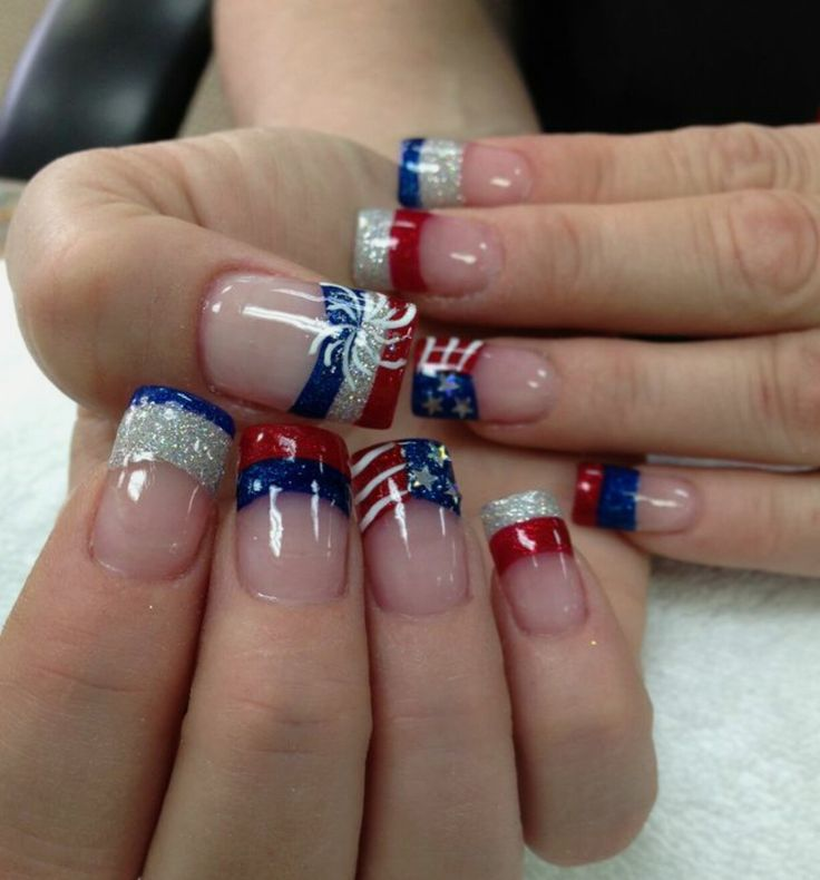 6239 best Funky French Tip Nails images on Pinterest
