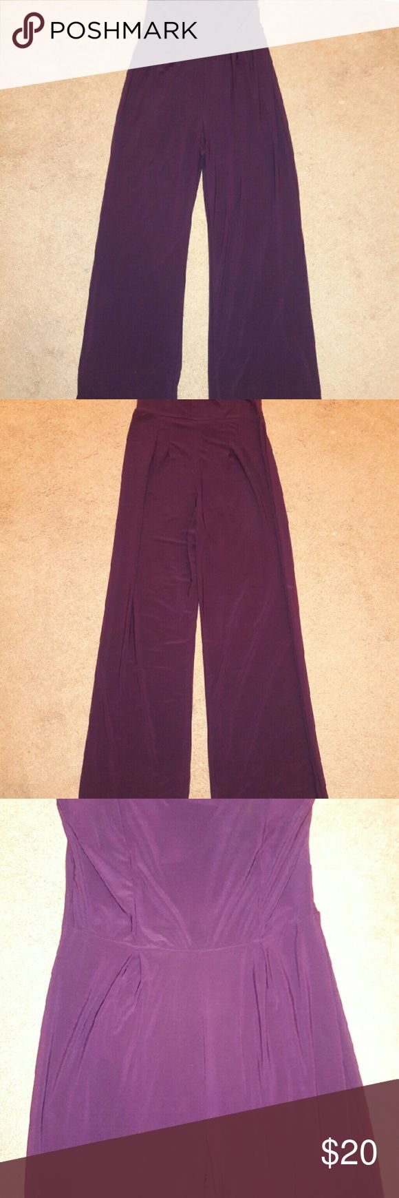 New Purple Jumpsuits Beautiful Purple Jumpsuits, 95% Polyester 5% Spandex Charlotte Russe Pants Jumpsuits & Rompers