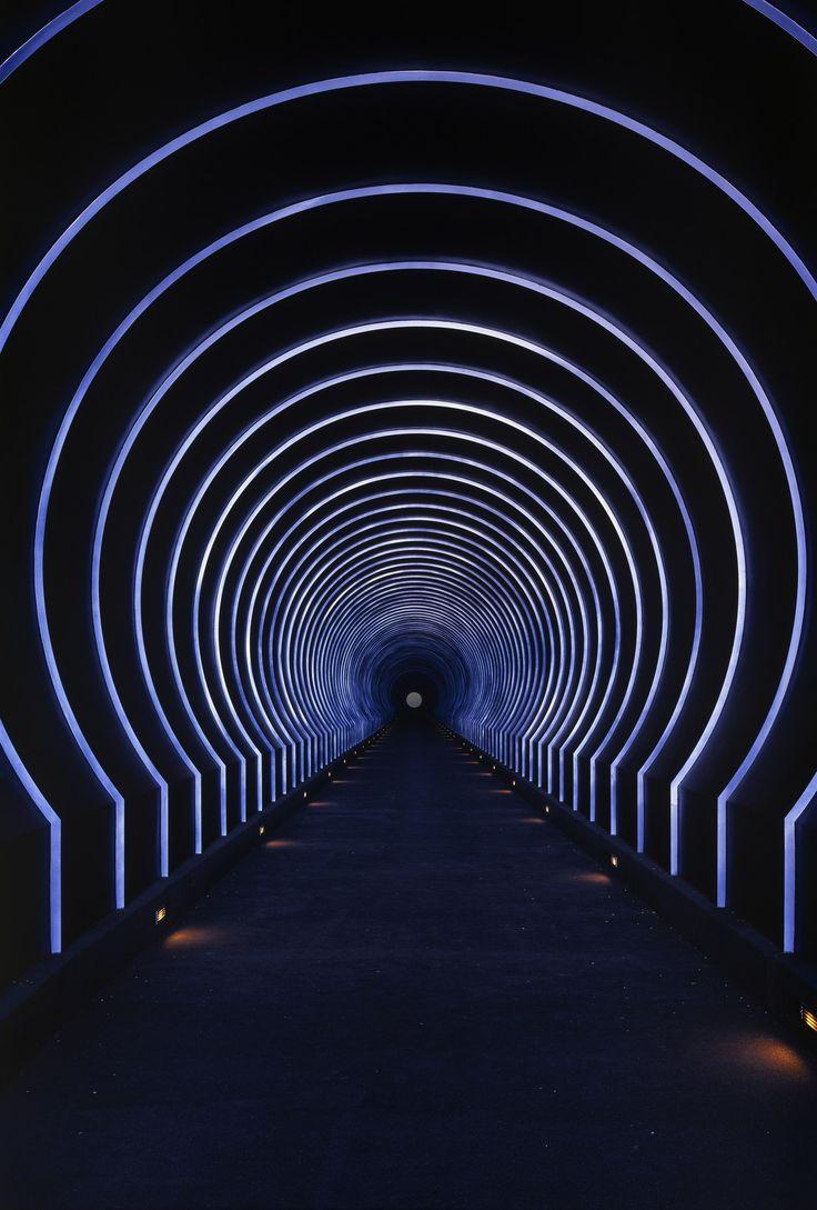 Roden Crater | Alpha (East) Tunnel | Arizona | James Turrell | Tunnel Lighting | Lighting Design