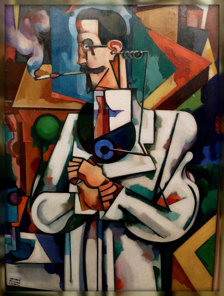 Portrait of Paulo Alexander, Amadeo de Souza Cardoso. The best of Portuguese Painting.