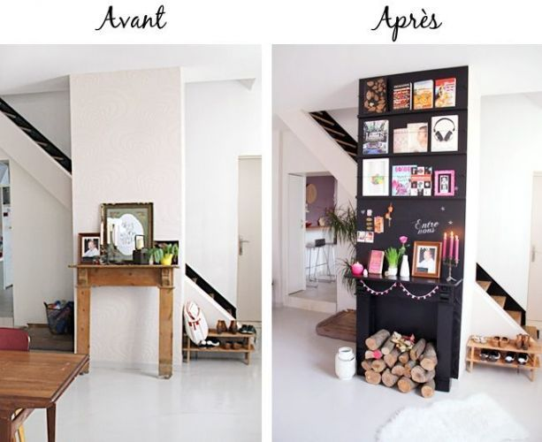 1000 ideas about artificial fireplace on pinterest faux - La maison de la bibliotheque ...