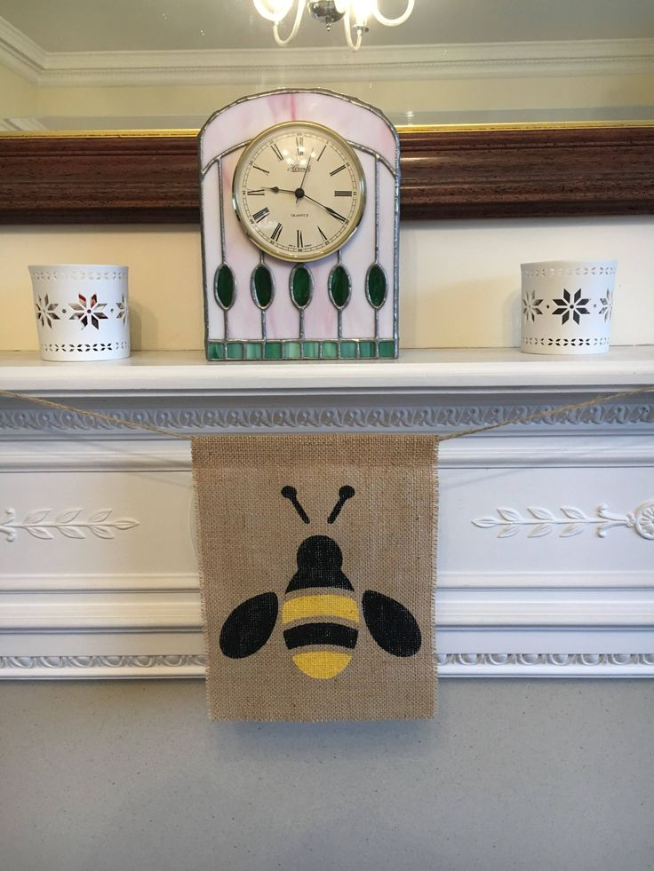 A personal favourite from my Etsy shop https://www.etsy.com/uk/listing/583238837/bee-birthday-high-chair-banner-burlap