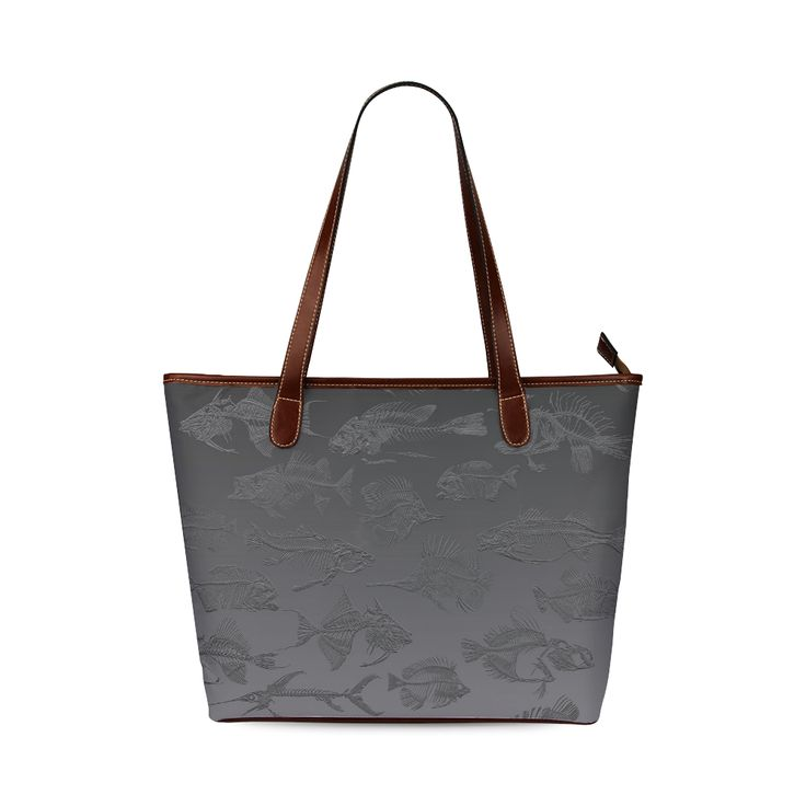 FOSSIL FISH Shoulder Tote Bag (Model 1646) Designed by Krydy $ 40 #ootd #outfitoftheday #lookoftheday #TagsForLikes #TFLers #fashion #fashiongram #style #love #beautiful #currentlywearing #lookbook #wiwt #whatiwore #whatiworetoday #ootdshare #outfit #clothes #wiw #mylook #fashionista #todayimwearing #instastyle #TagsForLikesApp #instafashion #outfitpost #fashionpost #todaysoutfit #fashiondiaries #cristinaguggeri #krydy #sneakerfreak #sneakerporn #shoeporn #fashion #swag #instagood #fresh…