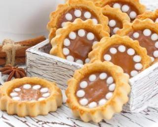 Sablés allégés au caramel au beurre salé : http://www.fourchette-et-bikini.fr/recettes/recettes-minceur/sables-alleges-au-caramel-au-beurre-sale.html