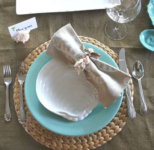 Coast Inspired Tablescapes