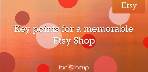 It's pretty simple to open a shop on Etsy or on a similar platform but no one tells you (at the beginning) that in order to become successful there's a long roa