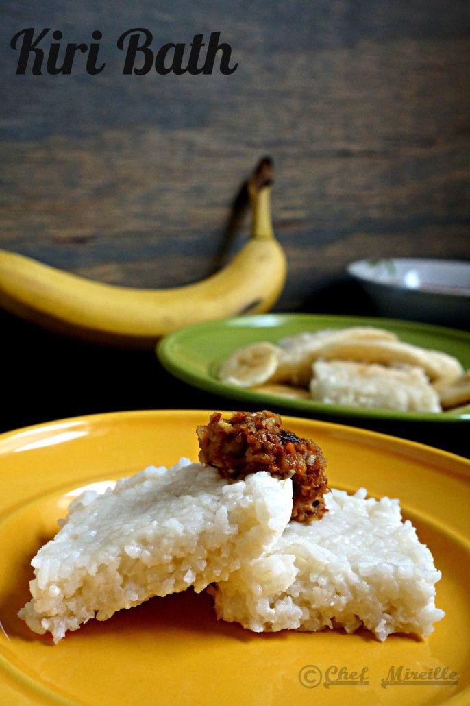 Kiri Bath, Sri Lankan Rice Cake