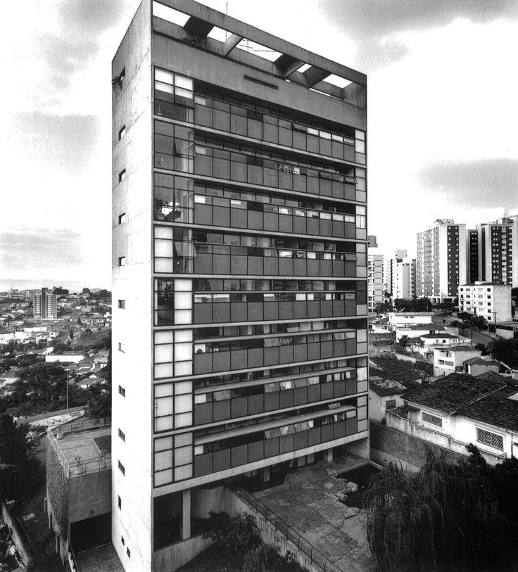 Jaraguá Apartment Building, Sãu Paulo, Brazil, 1984-88 (Paulo Mendes da Rocha)