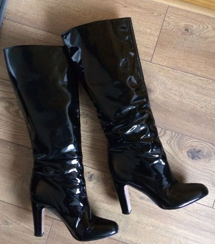 Black Leather Shoes With Track Soles Zara