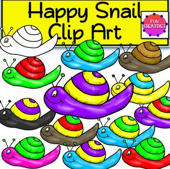 Happy Snail Clip Art- If I'm not mistaken you're the type to utilize cuteness and originality in your classroom and teaching resources. One thing is for sure, this cute set of Happy Snail Clip Art will decorate your resources with that sweet charm. This exclusive set Includes: 12 Super