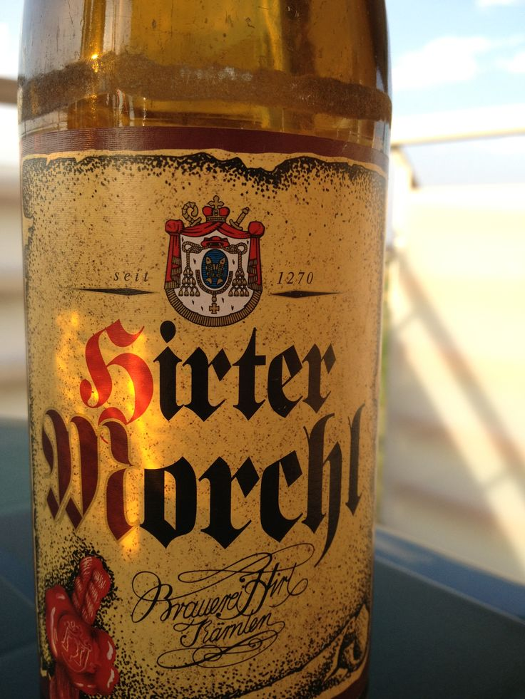 Hirter Morchl  Brewed by Brauerei Hirt Style: Dunkel/Tmavý Hirt, Austria