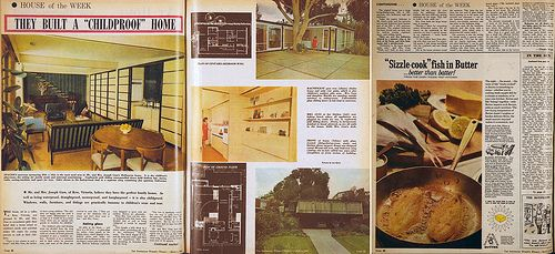 Guss residence - Kew, Victoria - 1966 (Architects: McGlashan and Everist)