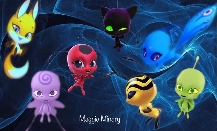 miraculous ladybug kwamis-by maggie minary | imágenes de