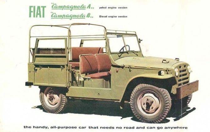 Campagnola,italian jeep