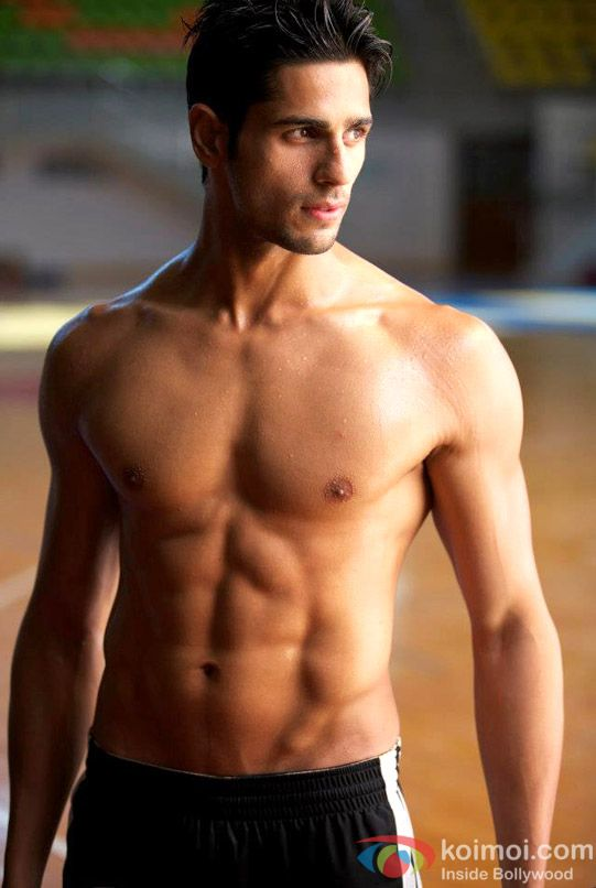 Sidharth Malhotra...probably one of the few indian men that I find very attractive :)