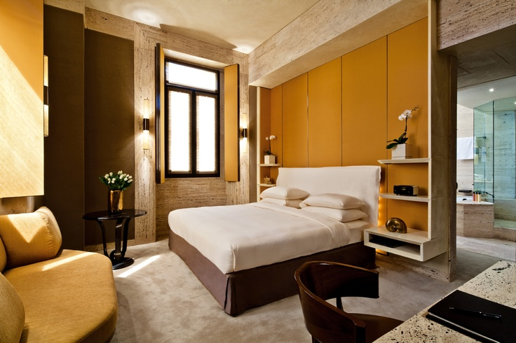 The contemporary design of Park Hyatt Milano's suites offer guests a modern alternative in the historic and ancient city of Milan.