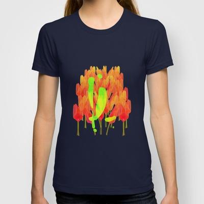 YL visiting Amsterdam T-shirt by Gréta Thórsdóttir - $18.00