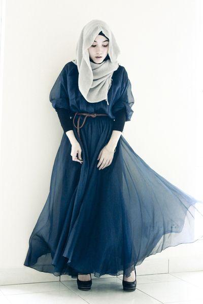 Hana Tajima's Hijab Style