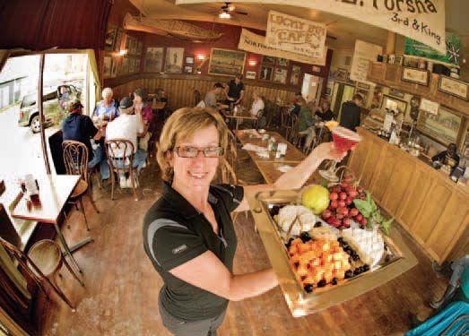 Josée Savard - Klondike Kate's Cabins & Restaurant (photo: archbould.com)