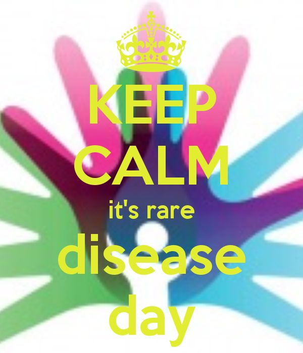 KEEP CALM it's rare disease day