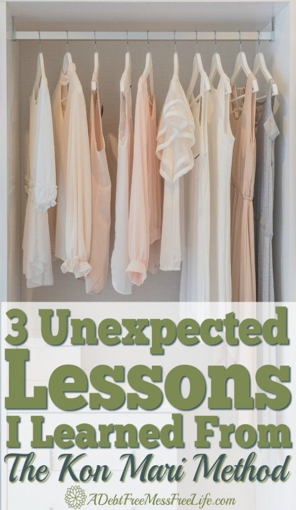 What started out as a downsizing, purging, organizing and decluttering exercise for an upcoming yard sale ended up teaching me some unexpected lessons thanks to the Kon Mari Method.