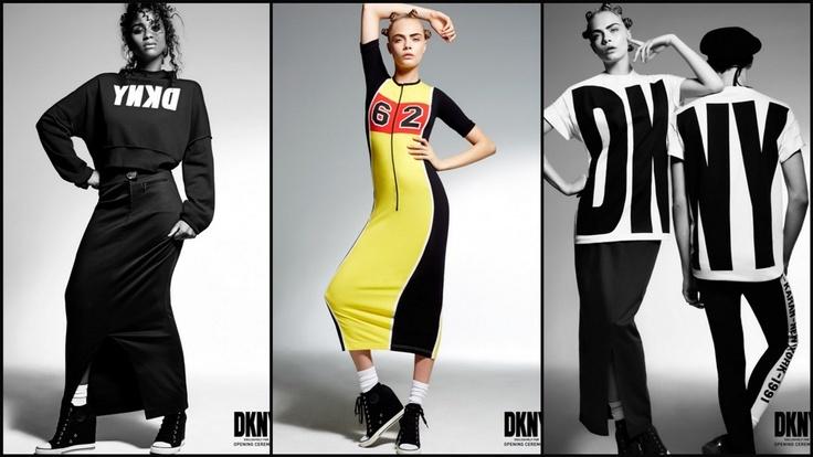 2013 Yaz Modası: Grunge 90'lar - DKNY for Opening Ceremony