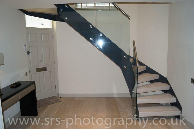 In uno dei quartieri più esclusivi di Londra abbiamo progettato e realizzato una nostra scala a giorno mod. 500 www.interbau.it