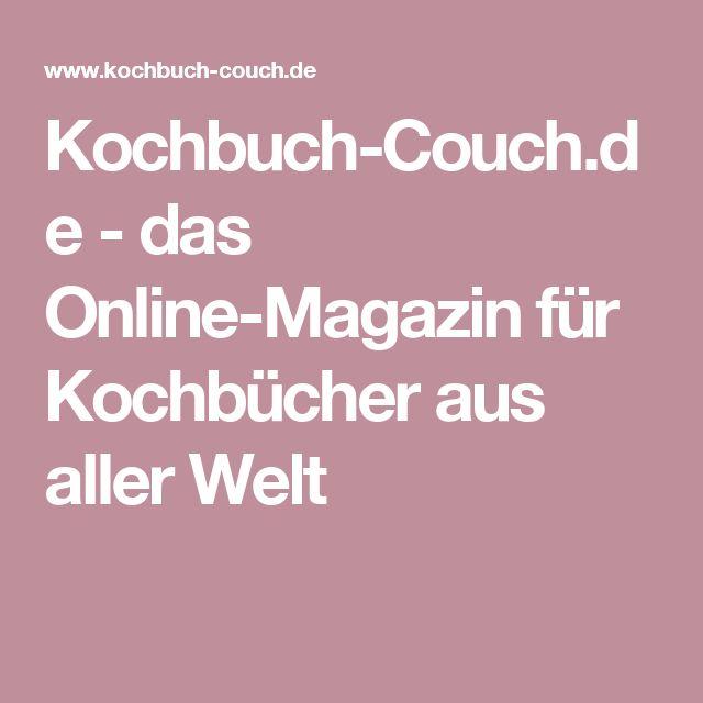 Kochbuch-Couch.de - das Online-Magazin für Kochbücher aus aller Welt