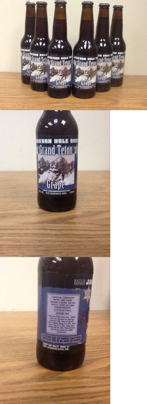 Soft Drinks 179188: Jackson Hole Grand Teton Grape Old Fashioned Glass Bottle Soda -> BUY IT NOW ONLY: $43.45 on eBay!